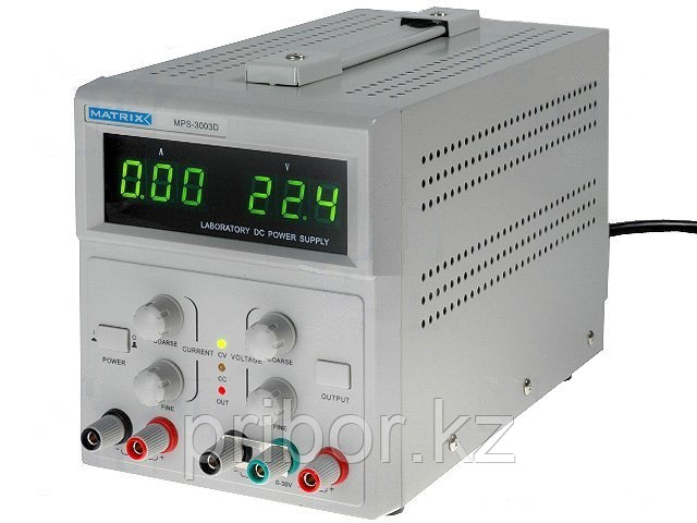 MATRIX MPS-3003D Одноканальный источник постоянного напряжения (30 В, 3 А)
