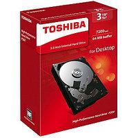 "Жесткий диск Toshiba 3Tb, HDD, 3.5"", 7200rpm, 64MB, SATA III 6Gb/s, HDWD130EZSTA"