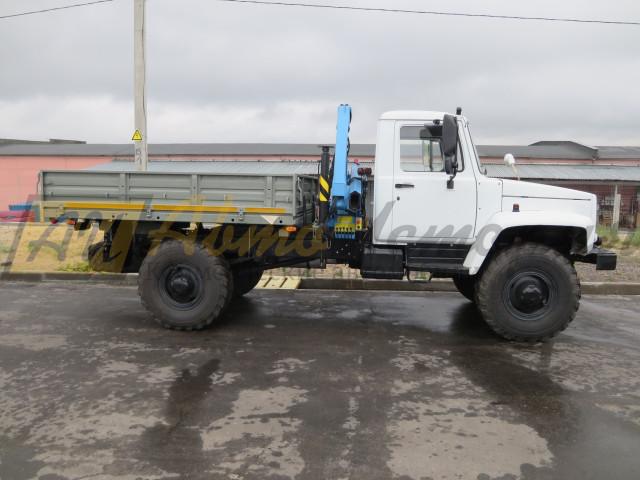"""Газ 33088 """"Садко"""". КМУ (Инман). Борт 2,4 м."""