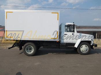 "Газ 3309 ""Газон"". Изотермический фургон (ППУ) 3,6 м."