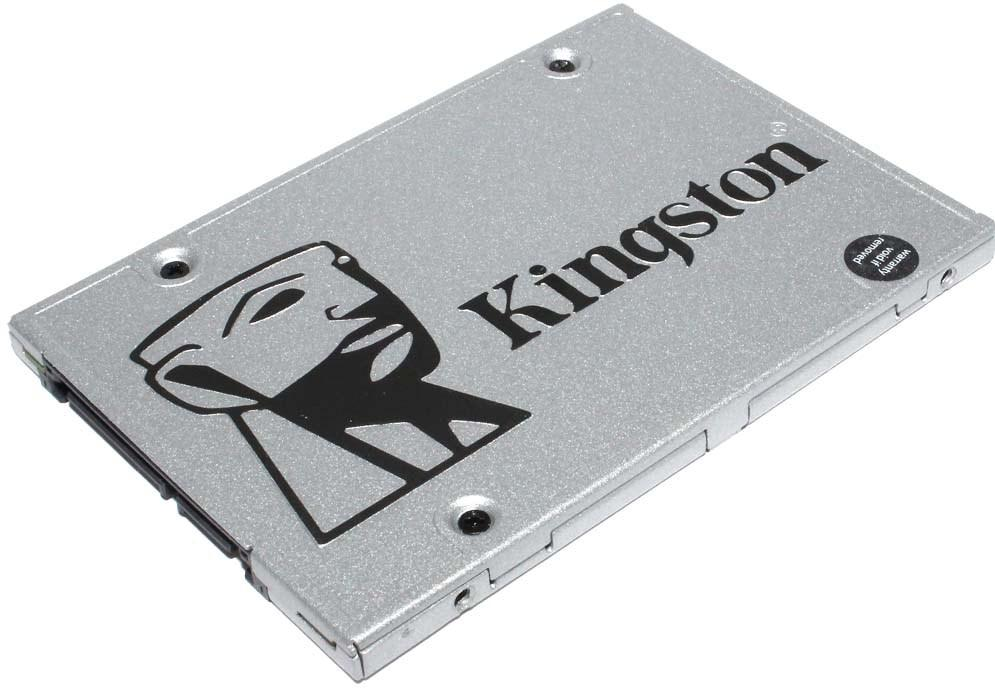 "SSD-накопитель Kingston UV400 120Gb, 2.5"", 7mm, SATA-III 6Gb/s, TLC, SUV400S37/120G"