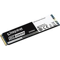 SSD-накопитель Kingston KC1000 960Gb, NVMe, M2, MLC, SKC1000/960G