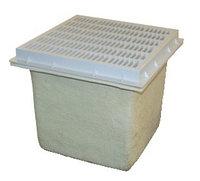 Донный трап квадратной формы 12″х12″ (без выходных отверстий)