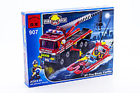 "Конструктор Brick Enlighten Fire Rescue ""Пожарная бригада"", 420 детали, фото 1"