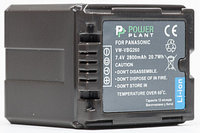 Аккумулятор PowerPlant Panasonic VW-VBG260 Chip 2800mAh