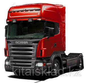 Стекло лобовое Scania R (series 5) (шелк)