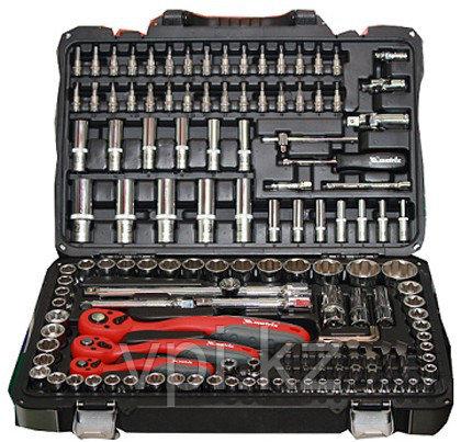 """Набор инструментов автомобильных  1/4"""",1/2"""", 3/8"""" из 151пр. Matrix Professional"""