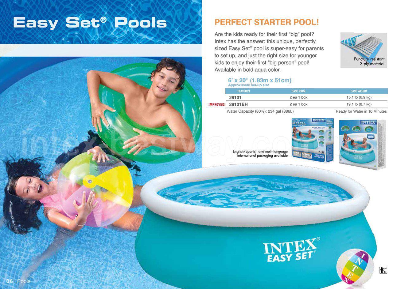 Бассейн Easy Set (183х51см.) Intex