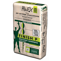 Шпатлевка AlinEX FINISH P, 25кг (полимерная)