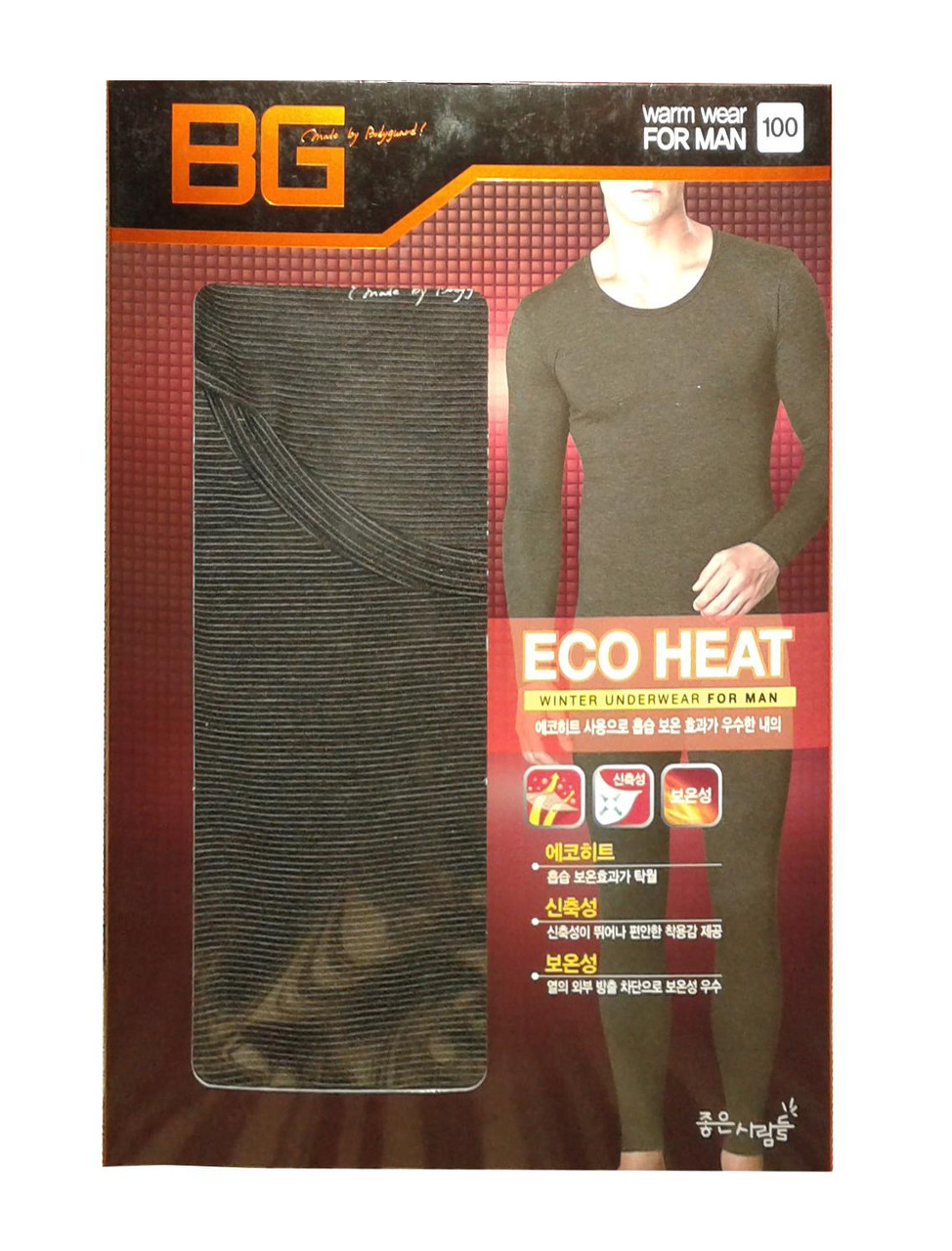 Термобелье мужское BodyGuard EcoHeat размер M