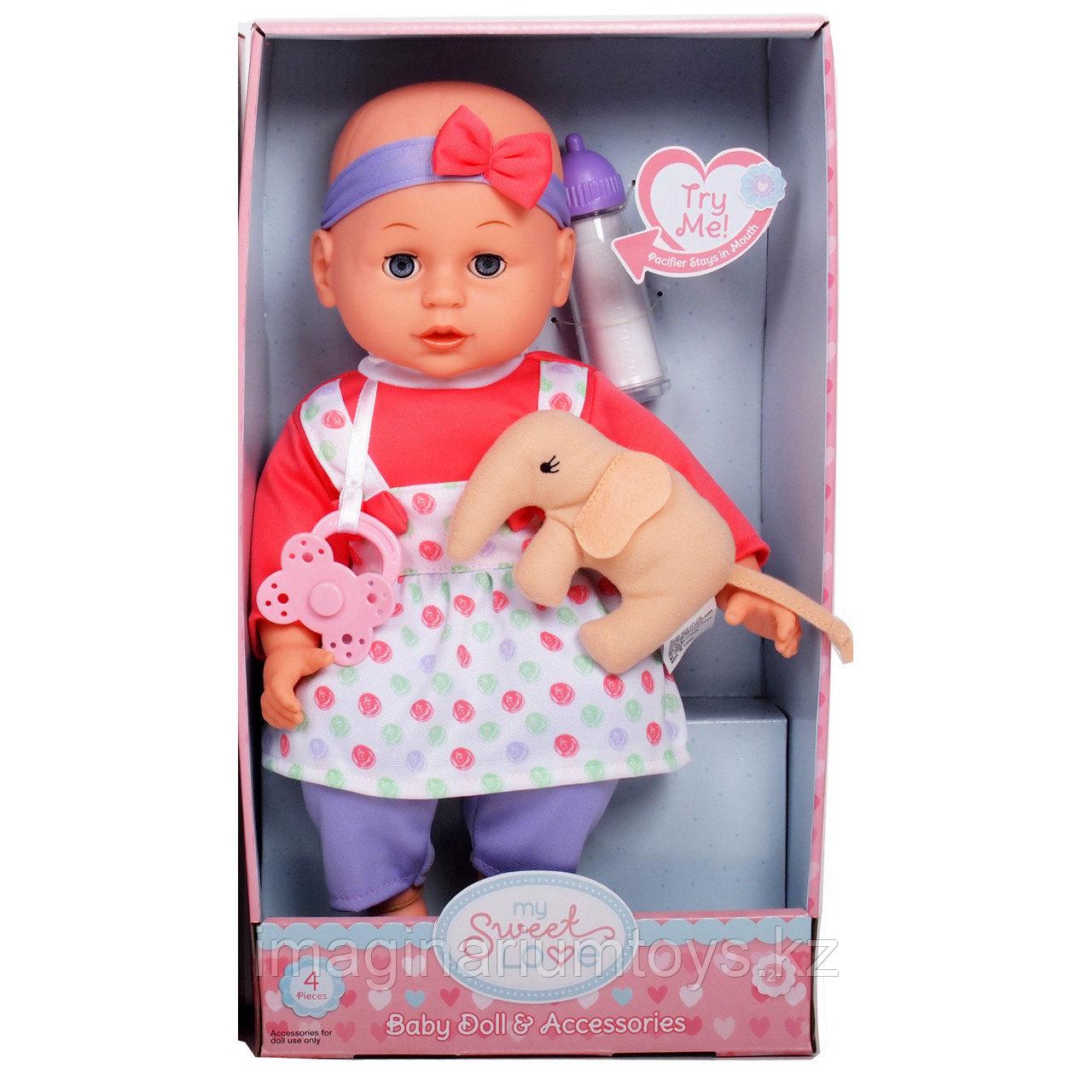 Кукла-пупс 34 см