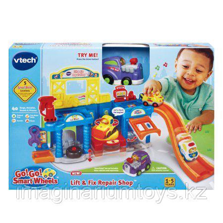 Интерактивная развивающая игрушка «Мастерская для машины» VTech