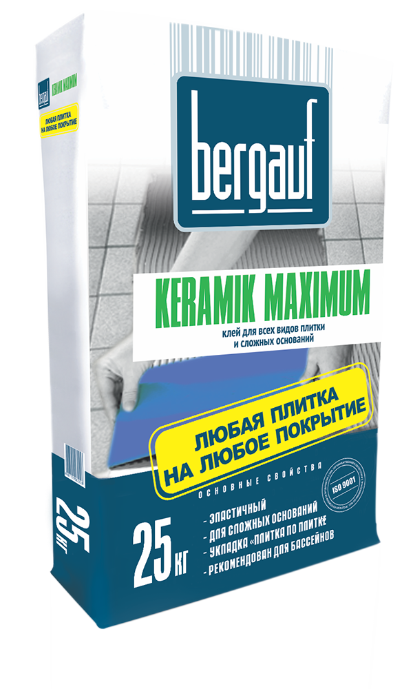 Bergauf клей Keramik Maximum Plus 25кг (302)