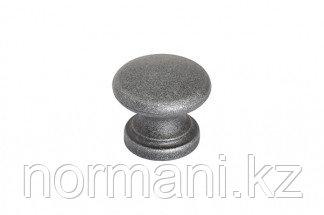 Ручка-кнопка, отделка античное железо