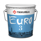 TIKKURILA ЕURO 3 А интерьер супермат 9л, фото 2