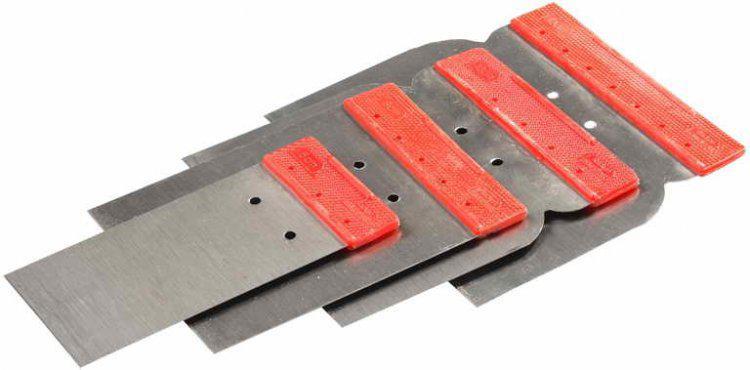 Шпатель Stayer набор Япончик 4шт (50,80,100,120 мм)(1012-H4)