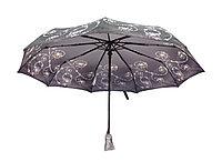 Полуавтоматический складной женский зонт LAN747grey