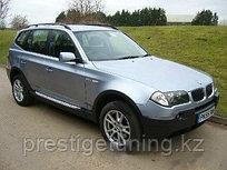 Родные пороги / подножки на BMW X3