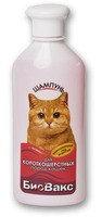 БиоВакс Шампунь для короткошерстных кошек, 355 мл