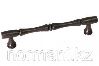 Мебельная ручка для кухни 128 бронза темная