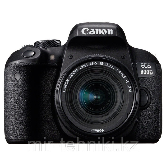 Фотоаппарат EOS Canon 800D kit 18-55mm F3.5-5.6 IS STM гарантия 1 год
