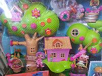 Куклы Лалалупси (Lalaloopsy Mini) Мини Игровой набор Домик на дереве Treehouse Playhouse, фото 1