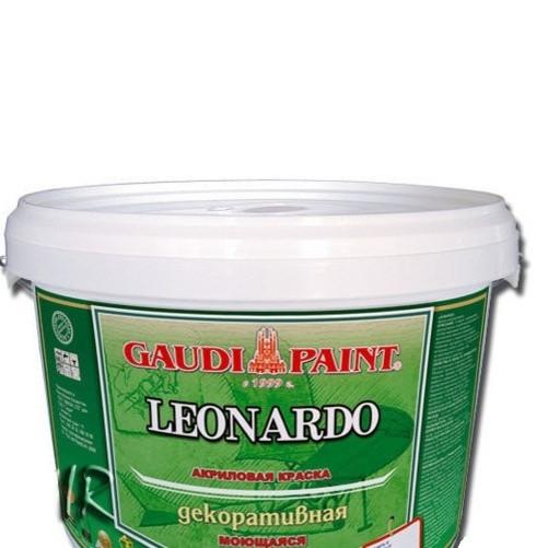 Штукатурка Гауди Leonardo 6 кг водно-дисперсионная акриловая декоративная