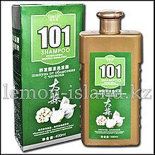 """Шампунь """"101"""" от Oumile против выпадения волос с экстрактом чеснока."""