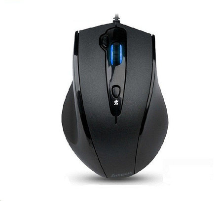 Мышь A4tech N-810FX Black-Grey V-Track padless mouse, USB, 800-1600dpi	, фото 2