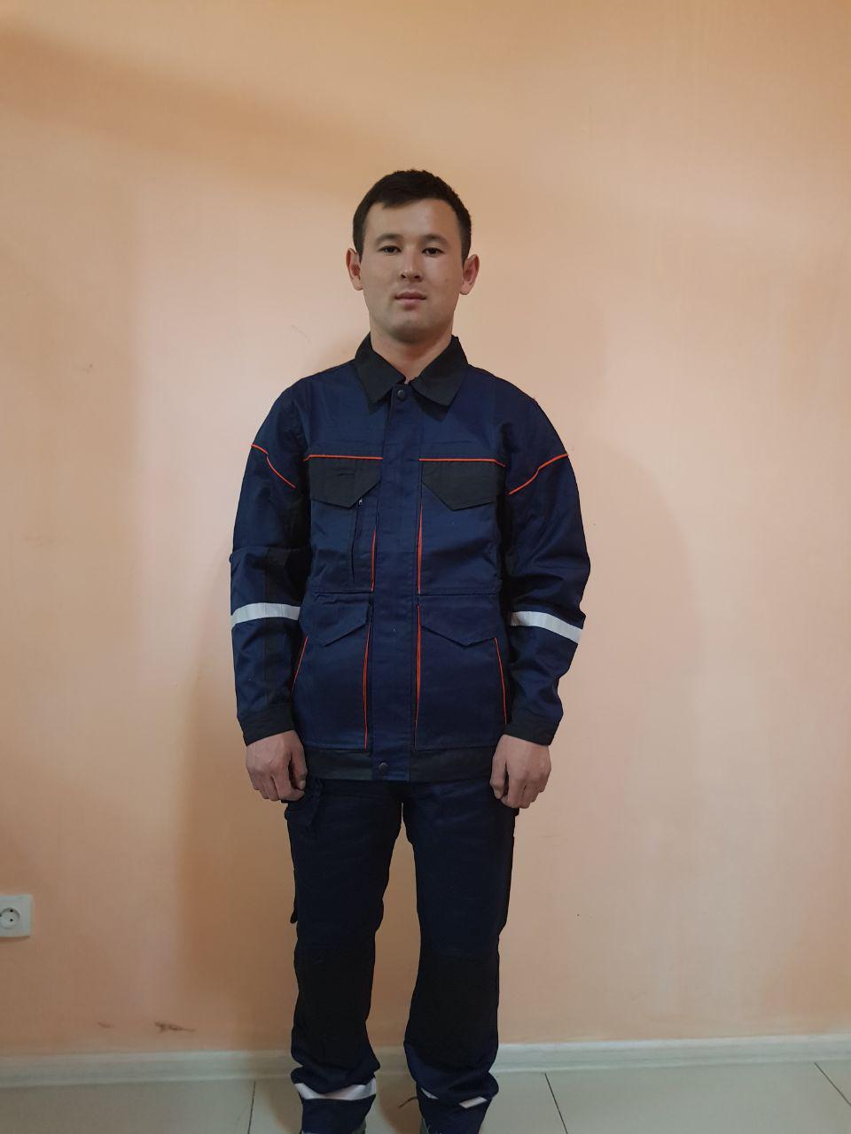 Костюм ПРОФИ Куртка на молнии+брюки.