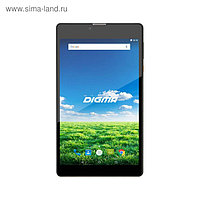 "Планшет Digma Plane 7700T LTE Black 2sim,7"" IPS,1280x800,1Gb+8Gb,2Mp+0,3Mp,GPS,6.0,черный"