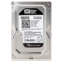 Western Digital Black, 500 GB HDD SATA WD5003AZEX, 7200rpm, 64MB cache, SATA 6 Gb/s