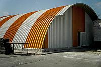 Строительство самонесущих арочных ангаров, зданий и сооружений из легких металлоконструкций, фото 1