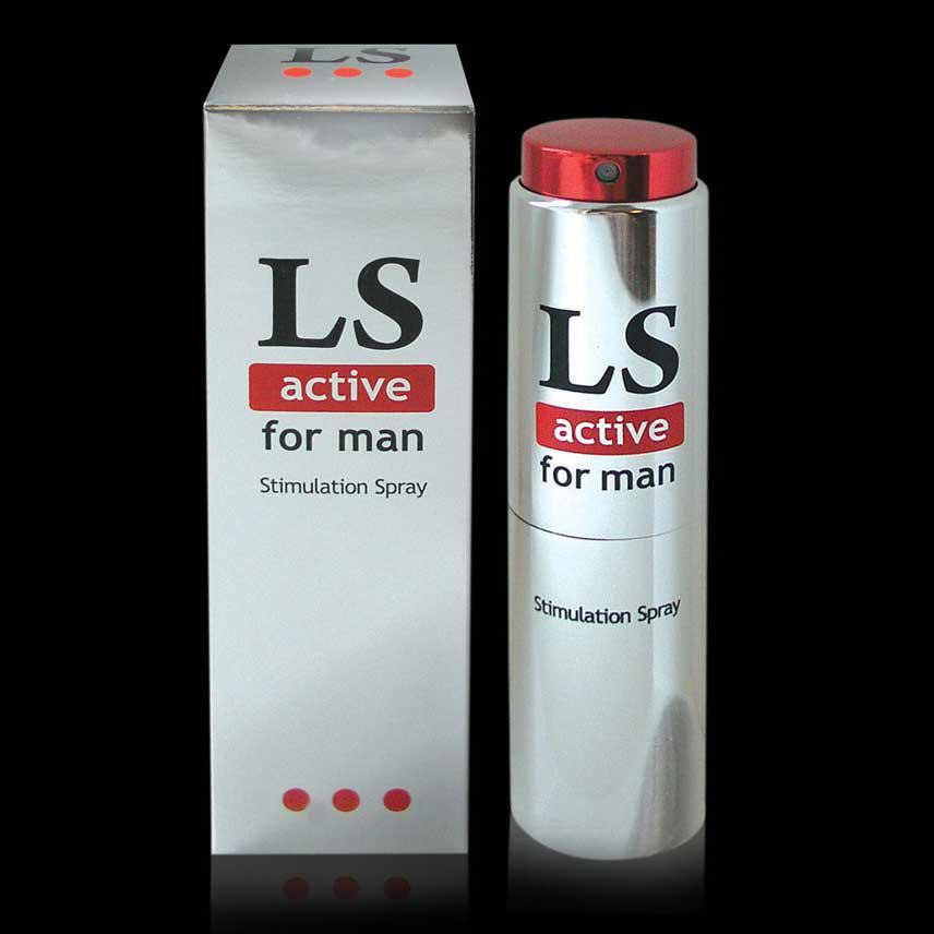 "Спрей-стимулятор для мужчин ""Lovespray active"", 18 мл"