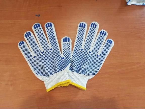 Перчатки рабочие х/б, фото 2