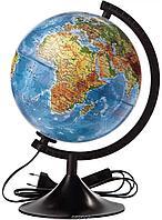 """Глобус физический диаметр 210мм """"Классик"""" с подсветкой"""