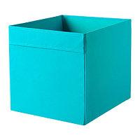 Коробка ДРЁНА синий ИКЕА, IKEA , фото 1
