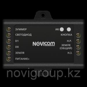 Автономный контроллер СКУД с возможностью подключения внешнего считывателя NOVIcam SB110