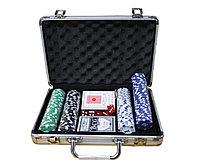 Набор для покера POKER GAME SET, 200 фишек