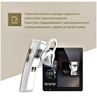 Bluetooth - гарнитура Remax RB-T6C Dark gray
