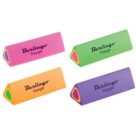 """Ластик Berlingo """"Star"""", прямоугольный, натуральный каучук, 35*22*7мм, фото 2"""