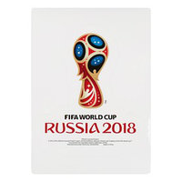 Наклейка на автомобиль кубок 2018 FIFA World Cup Russia™, 14,8 х 21 см