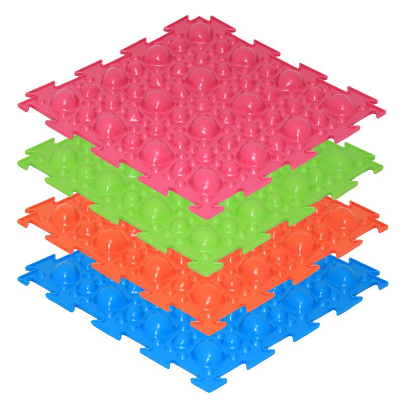 Модульный массажный коврик ОРТО «Камни», жёсткие