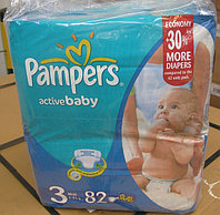 Pampers Active Baby Jumbo Pack