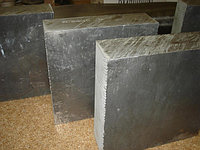 Алюминиевая плита 120 мм а0 гладкий РИФЛЕНЫЙ резка