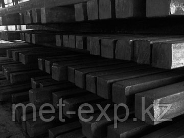 Квадрат стальной 200 х 200 мм 38хн3мфа Горячекатанный