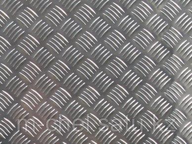 Лист рифленый 4 мм 40х квинтет РОМБ чечевица