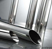 Труба нержавеющая 129 мм 20Х20Н14С2 ТУ 14-3Р-45-2005 холоднокатаная