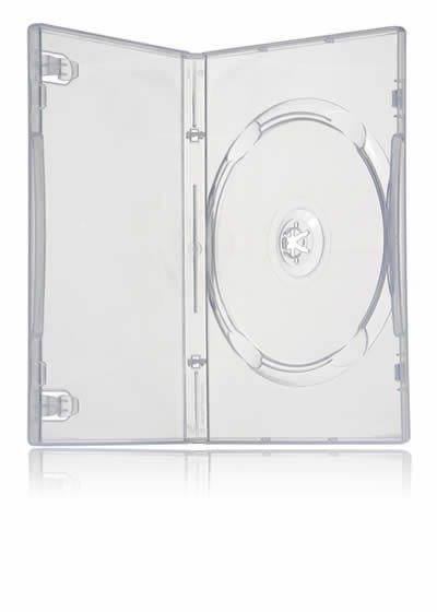 Бокс для DVD дисков(DVD-BOX )  7 мм прозрачный