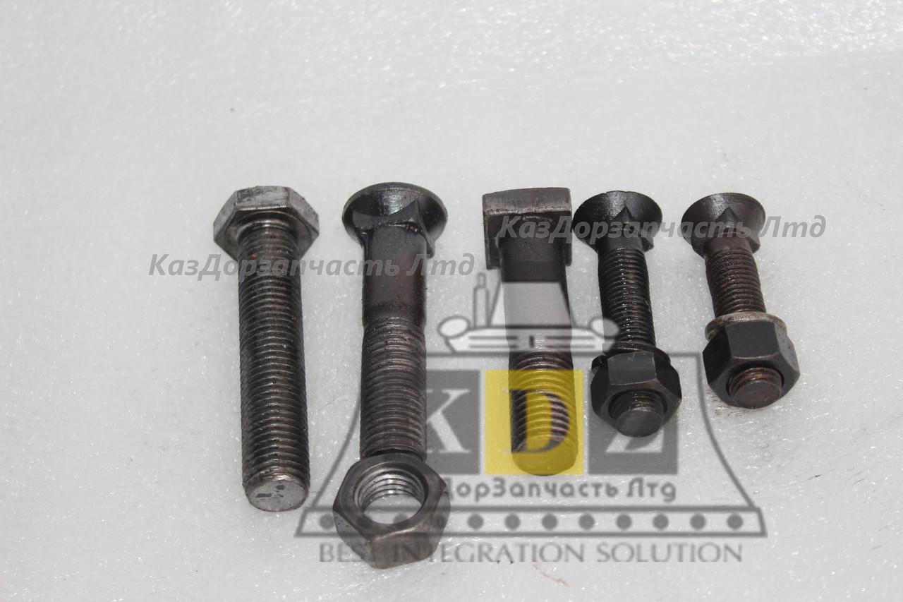 Болт, гайка, шайба среднего отвала GB10-88, GB6170-86, GB93-87 на автогрейдер XCMG GR215, GR180